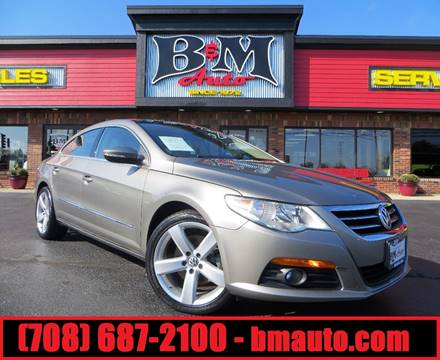 2012 Volkswagen CC for sale at B & M Auto Sales Inc. in Oak Forest IL