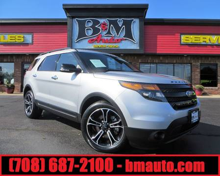 2014 Ford Explorer for sale at B & M Auto Sales Inc. in Oak Forest IL