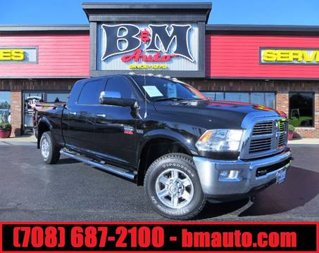 2012 RAM Ram Pickup 2500 for sale at B & M Auto Sales Inc. in Oak Forest IL