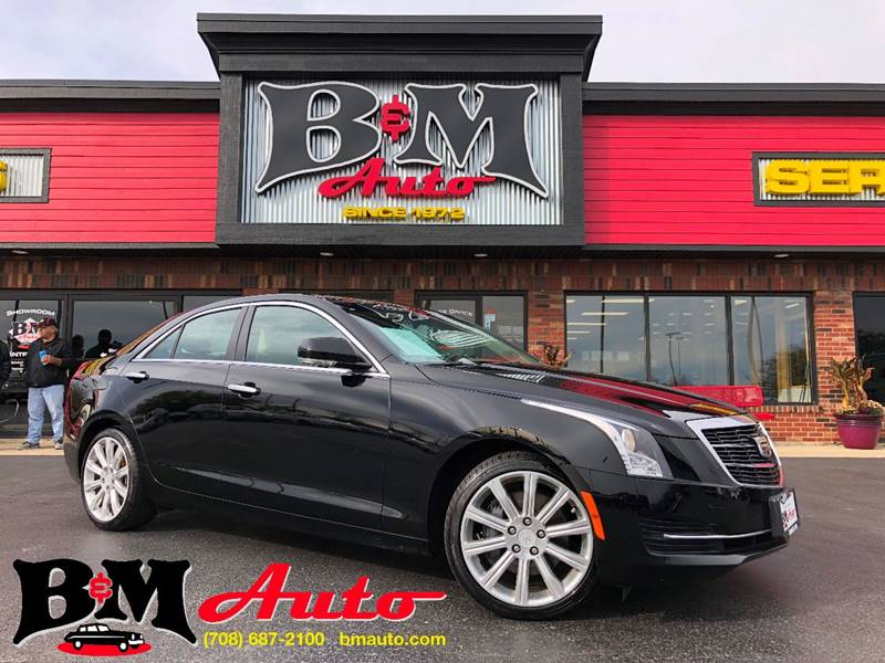2015 Cadillac Ats 2 0t Luxury In Oak Forest Il B M Auto Sales Inc