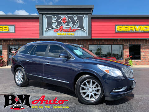 2015 Buick Enclave for sale at B & M Auto Sales Inc. in Oak Forest IL