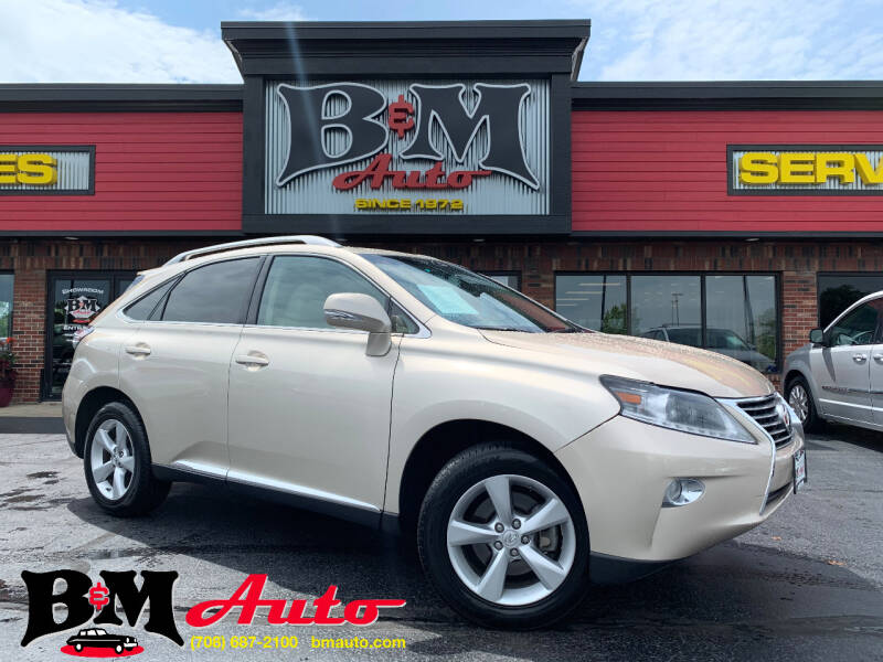 2014 Lexus RX 350 for sale at B & M Auto Sales Inc. in Oak Forest IL