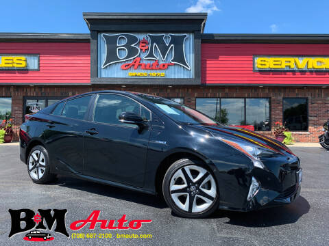 2018 Toyota Prius for sale at B & M Auto Sales Inc. in Oak Forest IL
