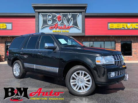 2014 Lincoln Navigator for sale at B & M Auto Sales Inc. in Oak Forest IL