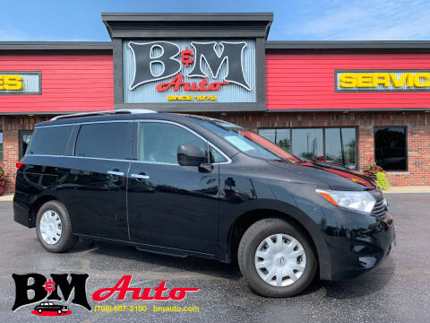 2015 Nissan Quest for sale at B & M Auto Sales Inc. in Oak Forest IL