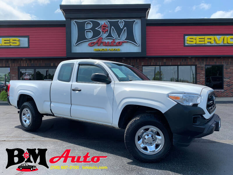 2016 Toyota Tacoma for sale at B & M Auto Sales Inc. in Oak Forest IL