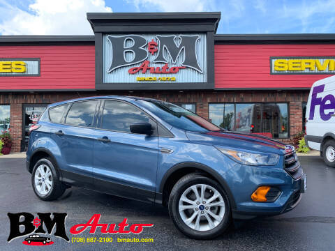 2018 Ford Escape for sale at B & M Auto Sales Inc. in Oak Forest IL