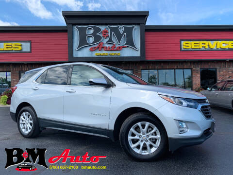2018 Chevrolet Equinox for sale at B & M Auto Sales Inc. in Oak Forest IL