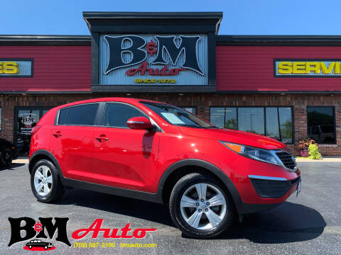 2013 Kia Sportage for sale at B & M Auto Sales Inc. in Oak Forest IL