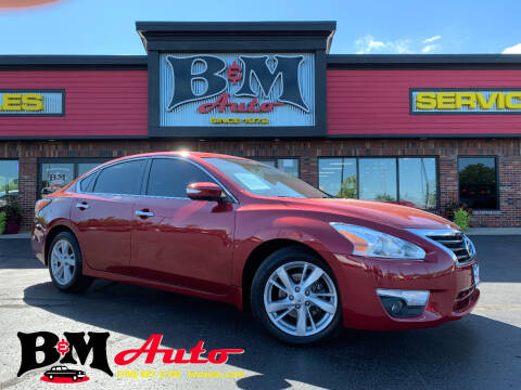 2015 Nissan Altima for sale at B & M Auto Sales Inc. in Oak Forest IL