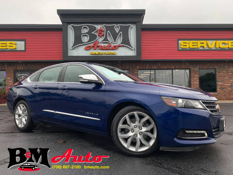 2014 Chevrolet Impala for sale at B & M Auto Sales Inc. in Oak Forest IL