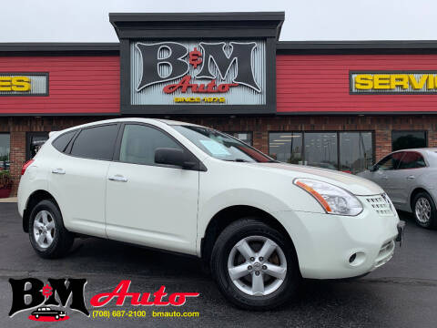 2010 Nissan Rogue for sale at B & M Auto Sales Inc. in Oak Forest IL