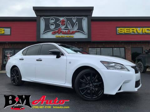 2015 Lexus GS 350 for sale at B & M Auto Sales Inc. in Oak Forest IL