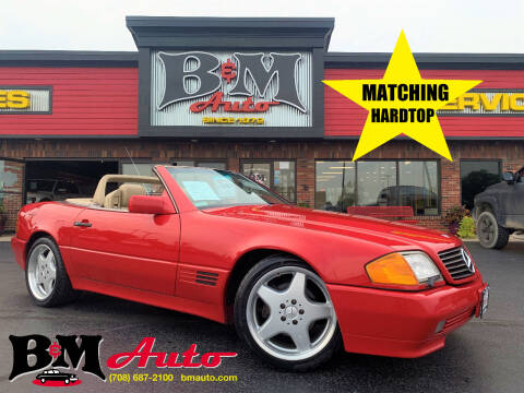 1991 Mercedes-Benz 500-Class for sale at B & M Auto Sales Inc. in Oak Forest IL