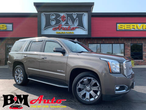 2016 GMC Yukon for sale at B & M Auto Sales Inc. in Oak Forest IL