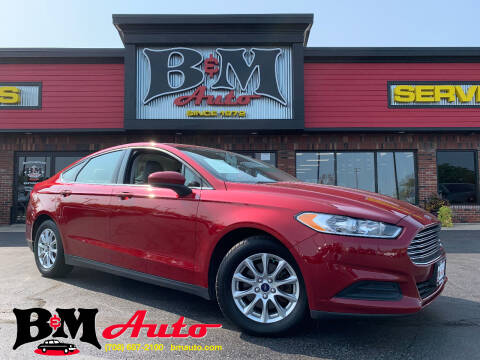 2016 Ford Fusion for sale at B & M Auto Sales Inc. in Oak Forest IL