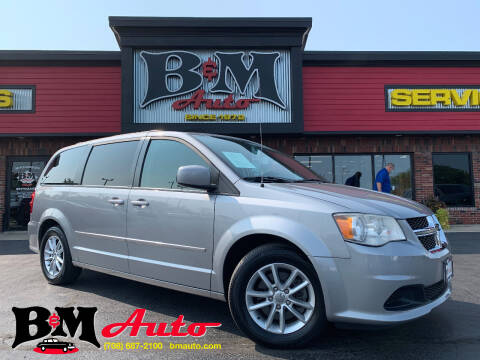 2013 Dodge Grand Caravan for sale at B & M Auto Sales Inc. in Oak Forest IL