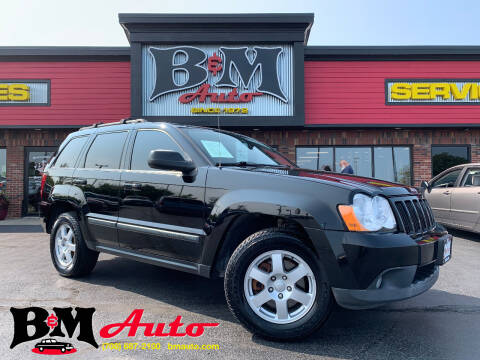 2008 Jeep Grand Cherokee for sale at B & M Auto Sales Inc. in Oak Forest IL