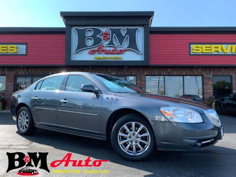 2011 Buick Lucerne for sale at B & M Auto Sales Inc. in Oak Forest IL