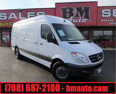 2012 Mercedes-Benz Sprinter Cargo for sale at B & M Auto Sales in Oak Forest IL