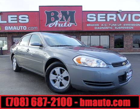 2008 Chevrolet Impala for sale at B & M Auto Sales in Oak Forest IL