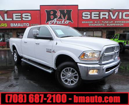 2015 RAM Ram Pickup 2500 for sale at B & M Auto Sales in Oak Forest IL