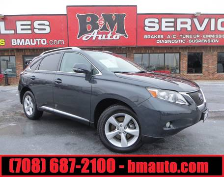 2010 Lexus RX 350 for sale at B & M Auto Sales in Oak Forest IL