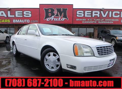 2004 Cadillac DeVille for sale at B & M Auto Sales in Oak Forest IL