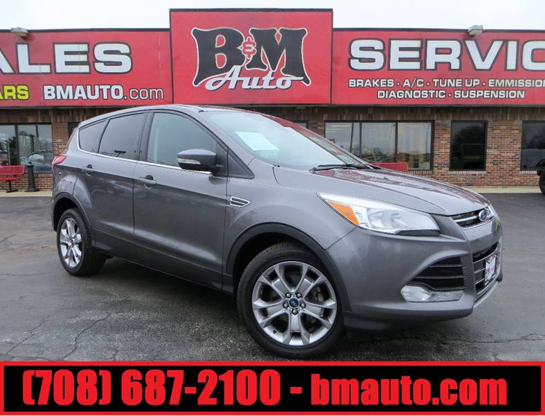 2013 Ford Escape for sale at B & M Auto Sales Inc. in Oak Forest IL