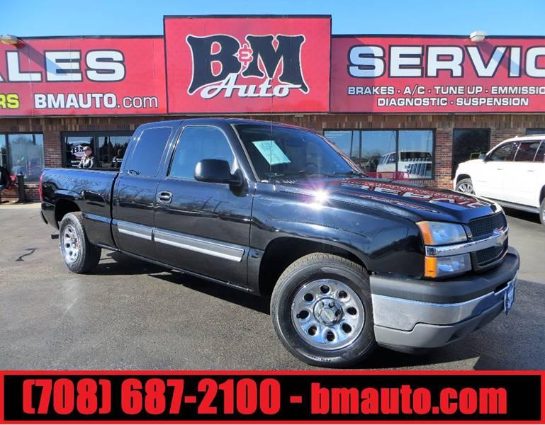 2005 Chevrolet Silverado 1500 for sale at B & M Auto Sales Inc. in Oak Forest IL