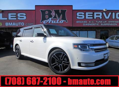 2013 Ford Flex for sale at B & M Auto Sales in Oak Forest IL