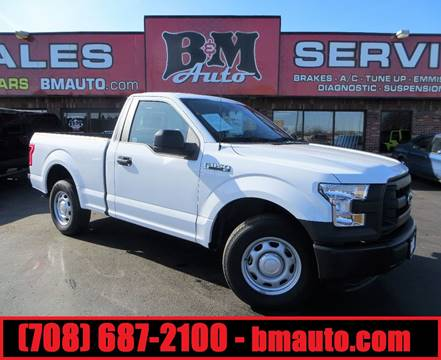 2016 Ford F-150 for sale at B & M Auto Sales in Oak Forest IL