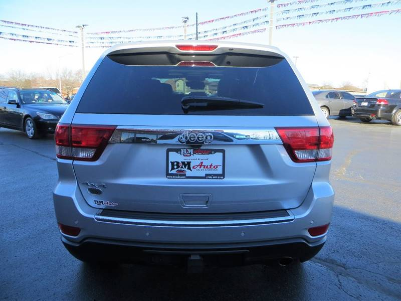 2013 Jeep Grand Cherokee for sale at B & M Auto Sales Inc. in Oak Forest IL
