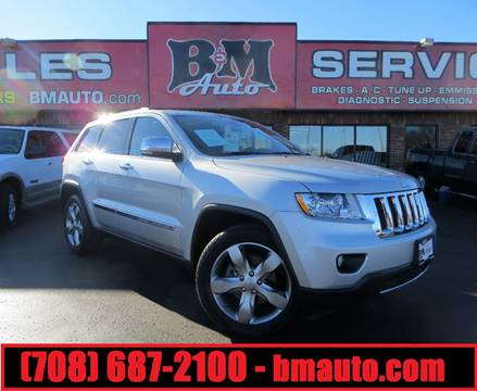 2013 Jeep Grand Cherokee for sale at B & M Auto Sales in Oak Forest IL