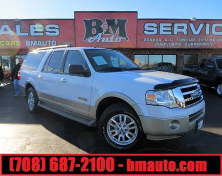 2007 Ford Expedition EL for sale at B & M Auto Sales in Oak Forest IL