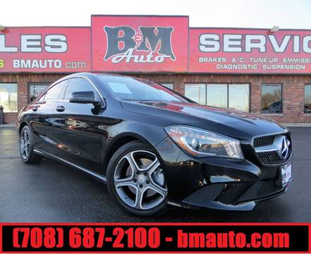 2014 Mercedes-Benz CLA for sale at B & M Auto Sales in Oak Forest IL