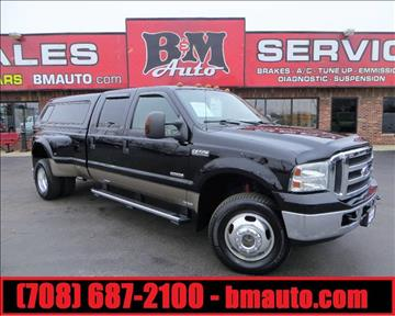 2006 Ford F-350 Super Duty for sale at B & M Auto Sales in Oak Forest IL