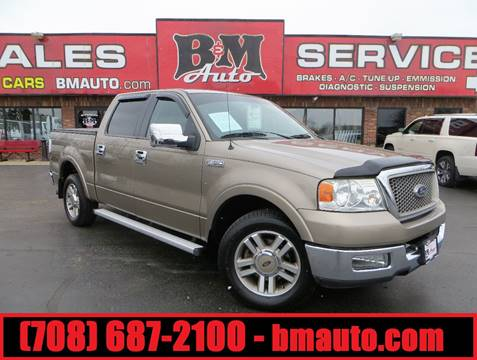2005 Ford F-150 for sale at B & M Auto Sales in Oak Forest IL