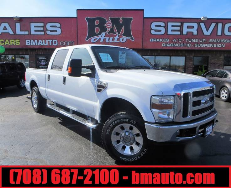 2008 Ford F-250 Super Duty for sale at B & M Auto Sales Inc. in Oak Forest IL