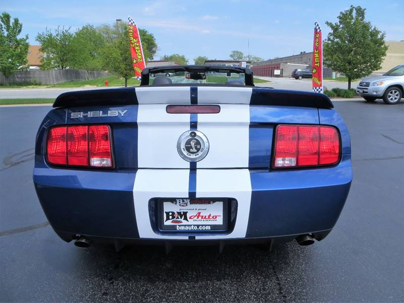 2007 Ford Shelby GT500 for sale at B & M Auto Sales Inc. in Oak Forest IL