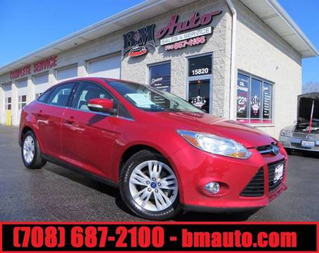 2012 Ford Focus for sale at B & M Auto Sales Inc. in Oak Forest IL