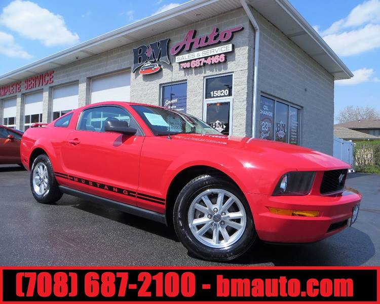 2006 Ford Mustang for sale at B & M Auto Sales Inc. in Oak Forest IL
