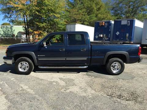 2006 Chevrolet Silverado 1500HD for sale at Perrys Auto Sales & SVC in Northbridge MA