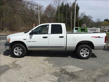 2006 Dodge Ram Pickup 1500 for sale at Perrys Auto Sales & SVC in Northbridge MA