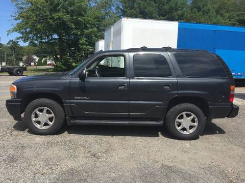 2003 GMC Yukon for sale at Perrys Auto Sales & SVC in Northbridge MA