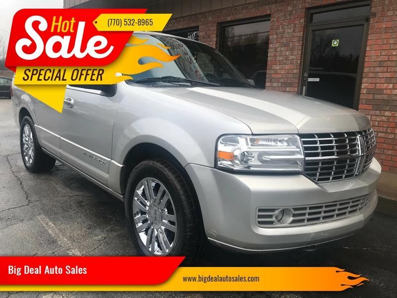 Big Deal Auto >> 2007 Lincoln Navigator Luxury 4dr Suv In Gainesville Ga