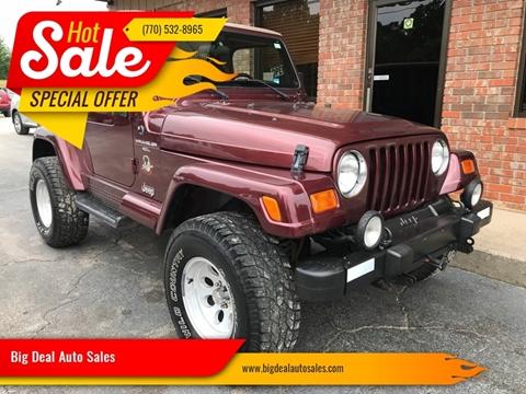 2001 Jeep Wrangler for sale in Gainesville, GA
