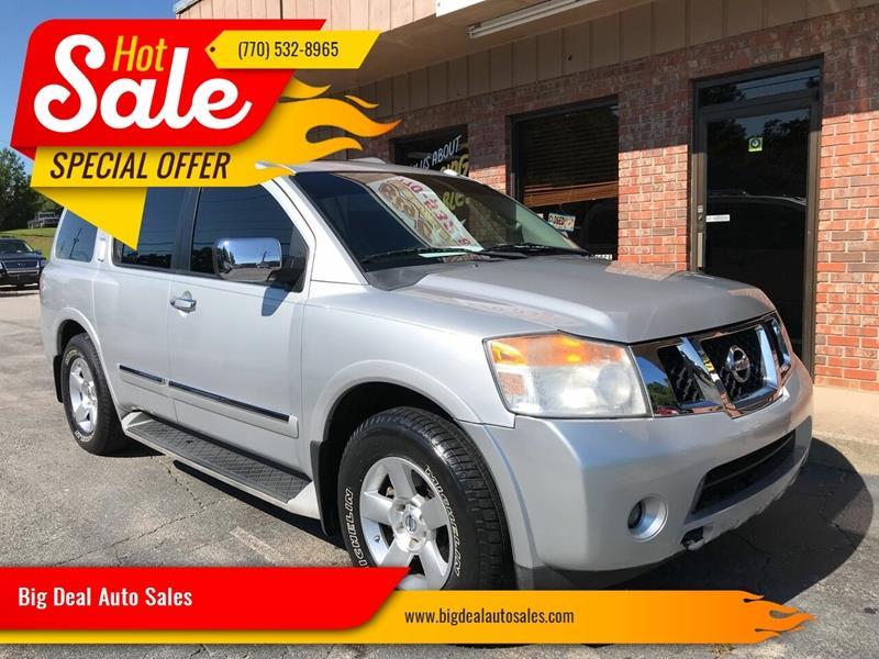 Big Deal Auto >> 2014 Nissan Armada 4x2 Sl 4dr Suv In Gainesville Ga Big