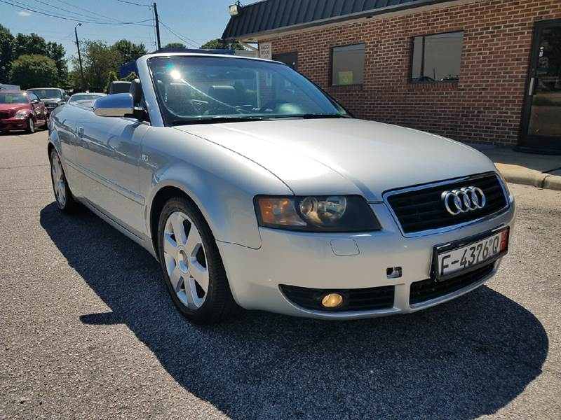 2003 Audi A4 for sale at Raleigh Motors in Raleigh NC