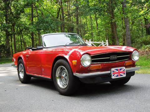 1974 Triumph TR6 for sale in Raleigh, NC